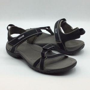 Teva Verra Black/Grey Sport Sandals